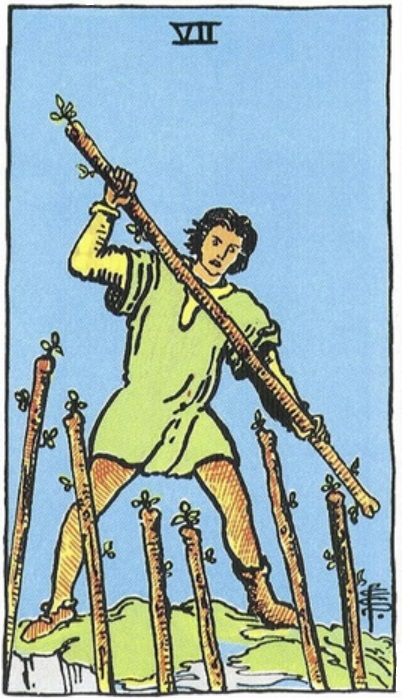 Alexander's natal Sun and Mercury are associated with the SEVEN of WANDS, the Lord of Valor (Mars ruling the 3rd decan of Leo)