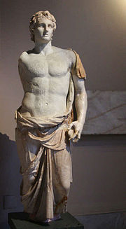 Statue of Alexander the Great at the Istanbul Archaeology Museum