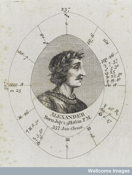 Sibley's chart for Alexander (published in 1790).