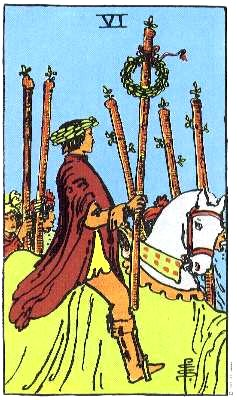 Six of Wands corresponds to the 2nd decan of Leo, Alexander's Ascendant.
