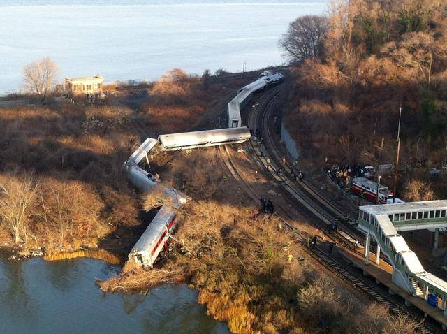 Metro-North Derailment, 7:22 AM, Dec 1, 2013.
