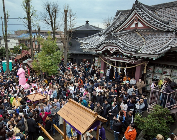 Festival of Kanamara Matsuri celebrated on 6 April 2014.  Photo from Huffington Post.