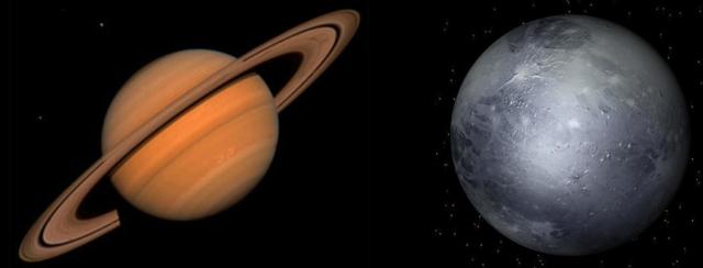Transiting Saturn conjunct Natal Pluto