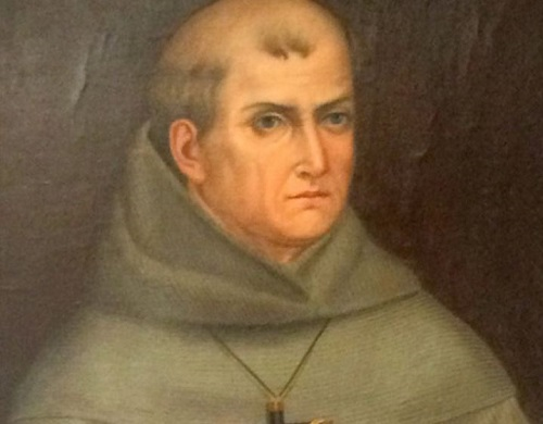 Painting of Juinpero Serra