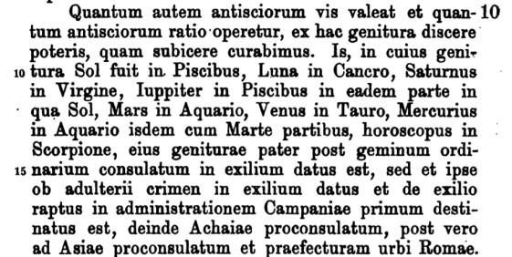 maternus latin
