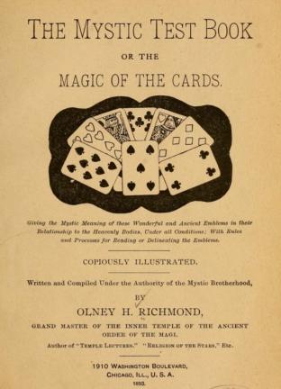 mystic test book